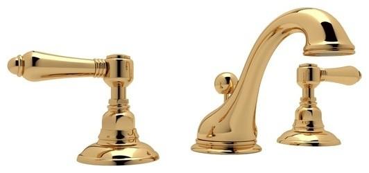 Rohl A1408LM-2 Viaggio 1.2 GPM Widespread Bathroom Faucet