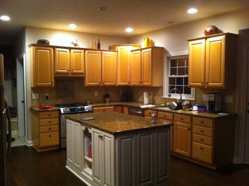 Kitchens With Light Cabinets And Dark Floors - Dark Floors Light Cabinets  Cymun Designs - Dark - Dark Floors Light Cabinets Cymun Designs