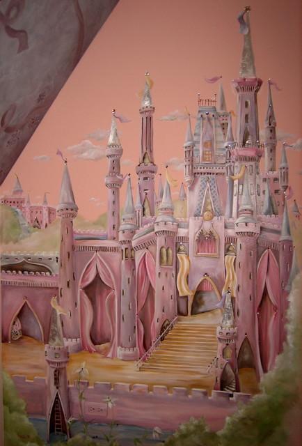 castle girls' room eclectic