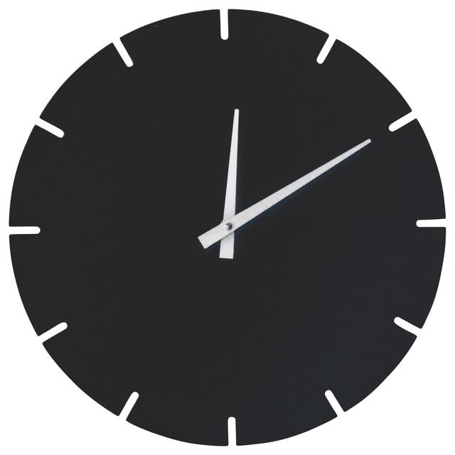 Metro Clock Artic Blue Modern Wall Clocks By Scale 1 1