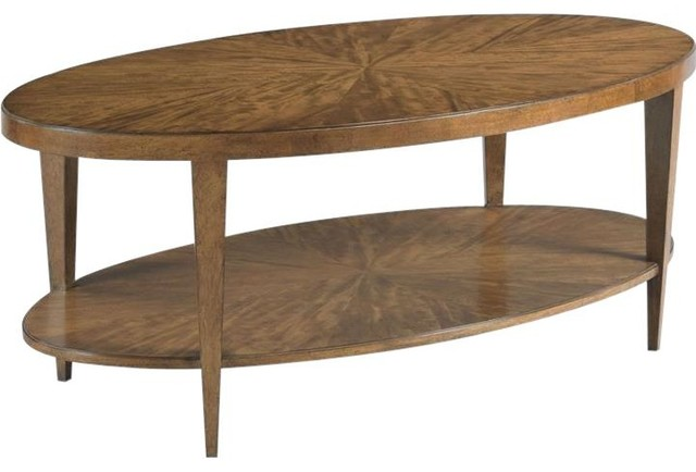 Cocktail Table Woodbridge Stafford Tapering Transitional