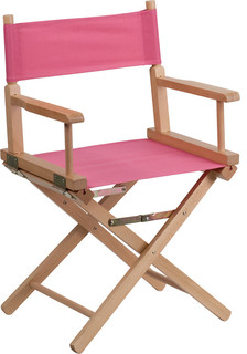 Standard Height Directors Chair, Pink