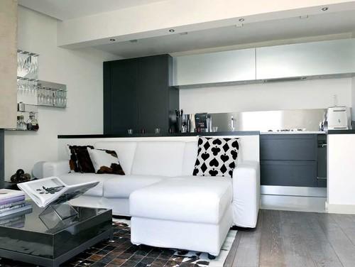 Consiglio idee per parete divisoria living for Idee cucina living