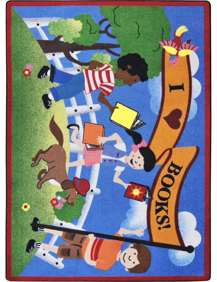Kid Essentials Rug Library Day 5 4 X7