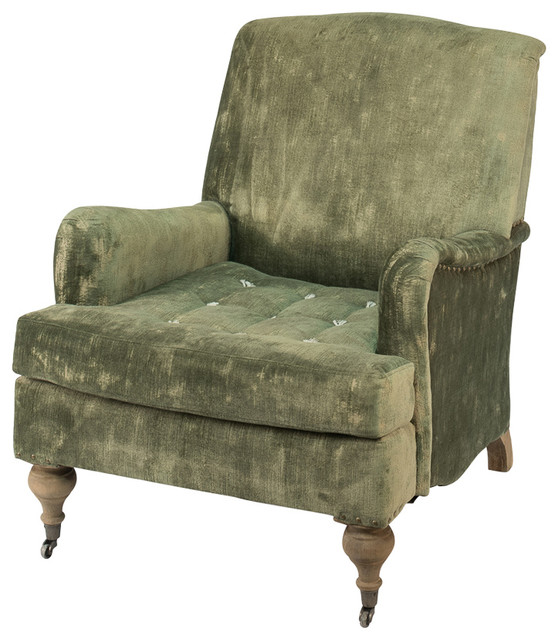 English Roll Arm Chair Armchairs And Accent