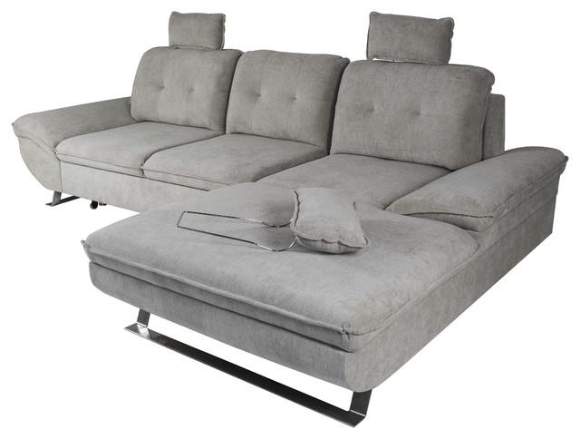 VALEO Sleeper Sectional - Contemporary - Sleeper Sofas - by MAXIMAHOUSE