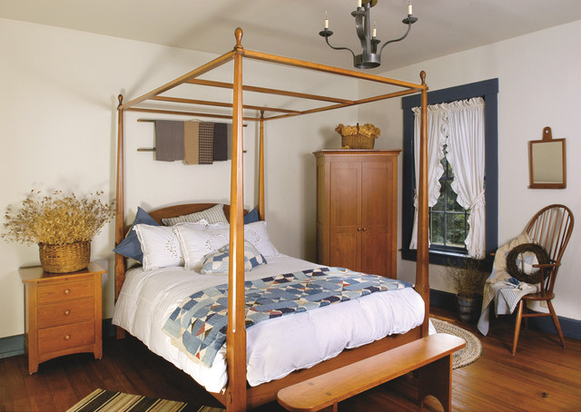 Shaker Style Cherry Bedroom Furniture Traditional Bedroom Furniture Sets Cleveland By