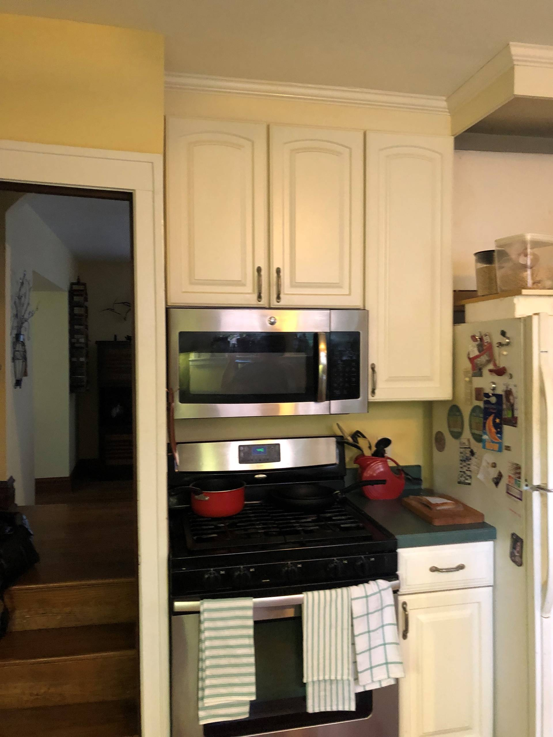 zeman kitchen before