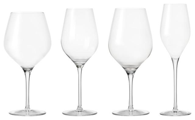 Passion Connoisseur Mixed Wine Glass Set, 4 Pieces