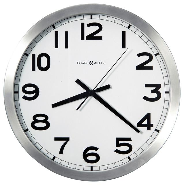 Howard Miller Spokane Clock Contemporary Wall Clocks By Howard Miller
