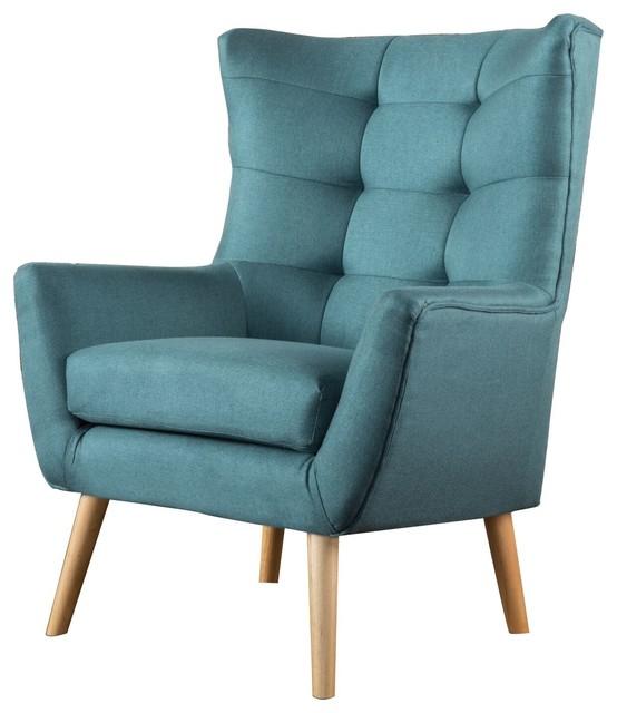 Superieur Temescal Club Chair, Dark Teal