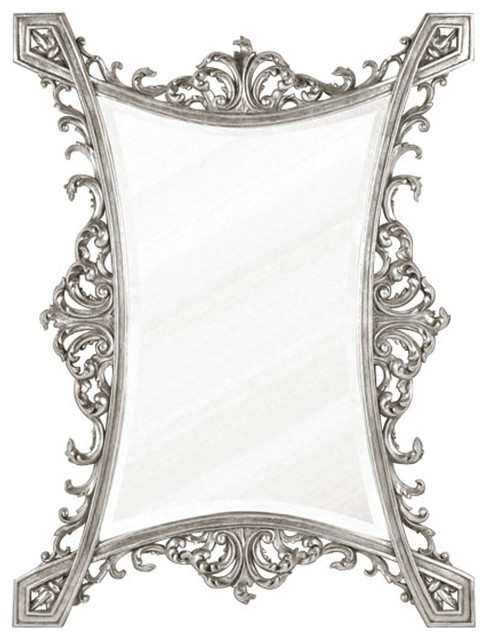 Modern Contemporary Urban Design Living Lounge Room Wall Mirror, Clear, Glass.