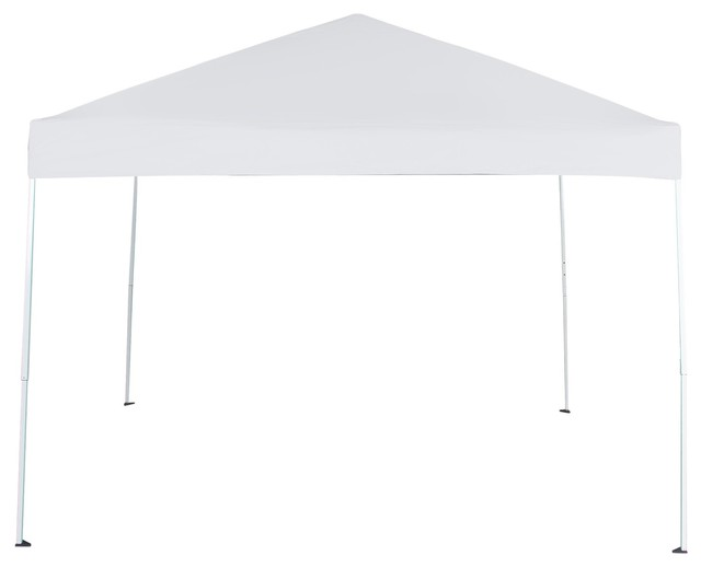 118 X 118 Uv Coated Outdoor Garden Instant Canopy Tent With Carry Bag, White.