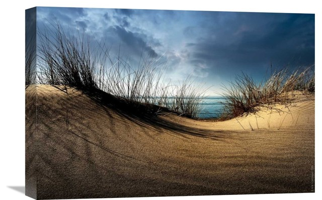 Dunes Stretched Canvas Giclee By Wim Schuurmans 22x15 Contemporary Prints And Posters By Global Gallery