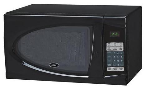 0.9 Cuft 900w Microwave, Black.