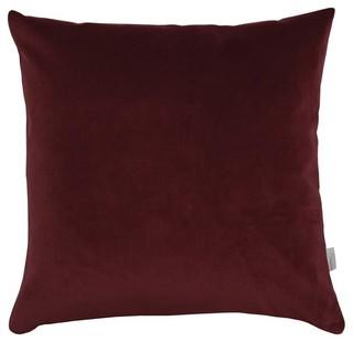 A u maison purple velvet basic cushion cover for Au maison cushions