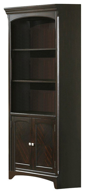 Coaster Garson Home Office Bookcase, Rich Cappuccino Finish.