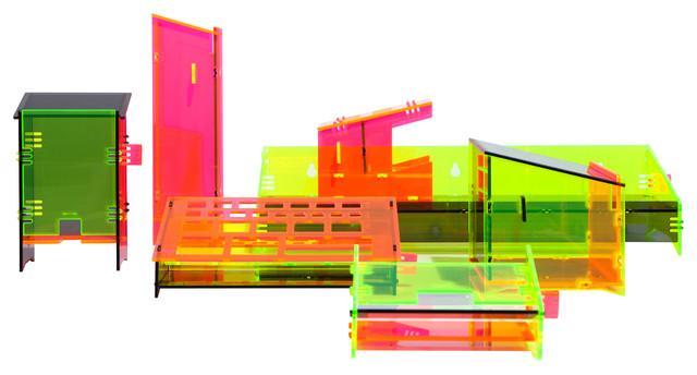 Acrylic Bath Caddies Set - Eclectic - Bathroom Organizers - by ...