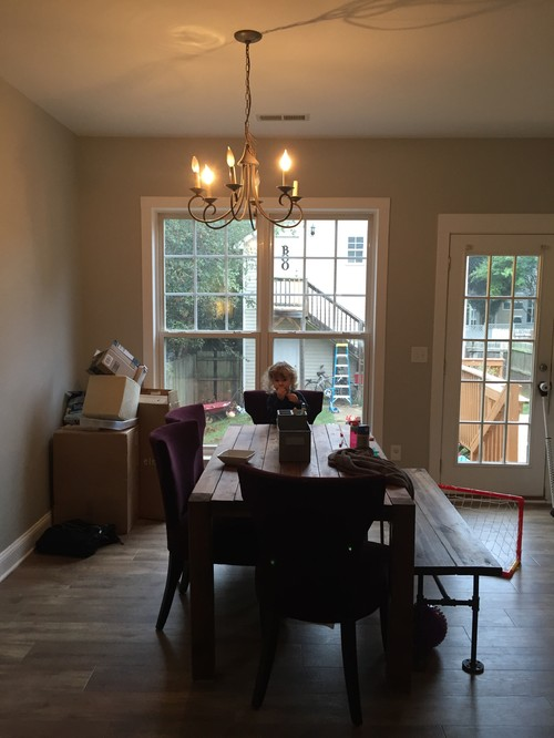 Dining Chandelier Placement