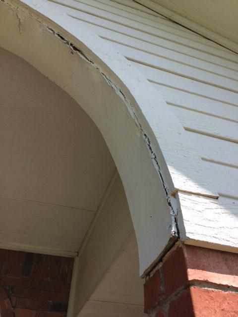 Exterior Arch Repair
