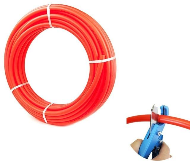 """1"""" X 100-Feet Pex Tubing Red."""
