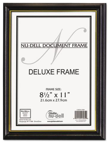 749ec0c6c90b Nudell Deluxe Wood Document Frame