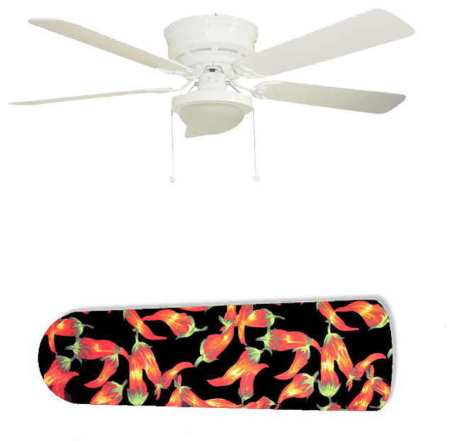 Red Hot Chili Peppers Chiles 52 Ceiling Fan And Lamp