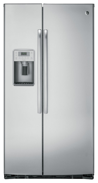 36 Freestanding Counter Depth Side By Side Refrigerator.