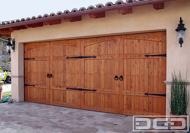 California Dream 22 A Tuscan Style Garage Door With
