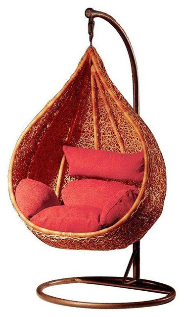 Natural Wicker Nest Hanging Chair