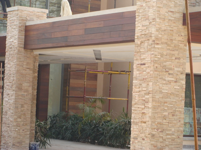 Exterior - wooden cladding