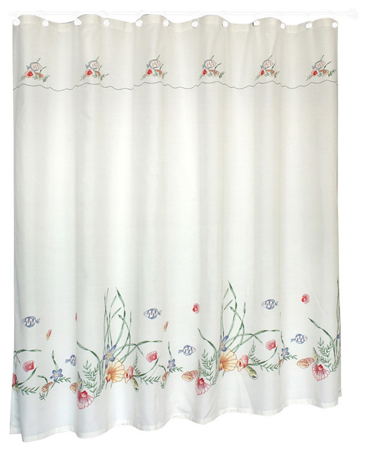 United Curtain Co Seashell 70 Quot X72 Quot Shower Curtain