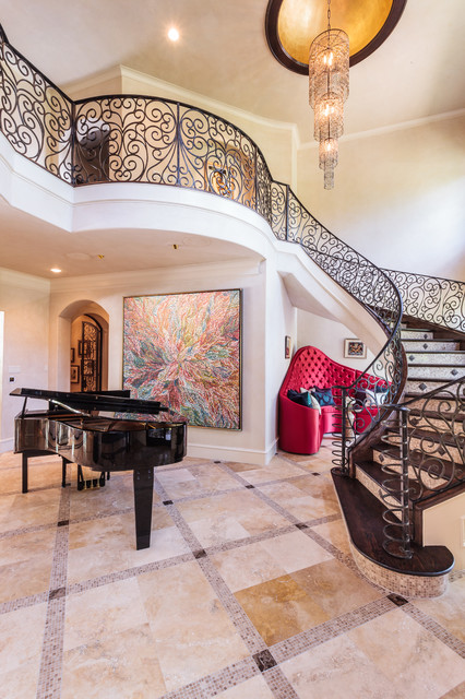 Grand entries and staircases houston von anything but for Grand home designs inc