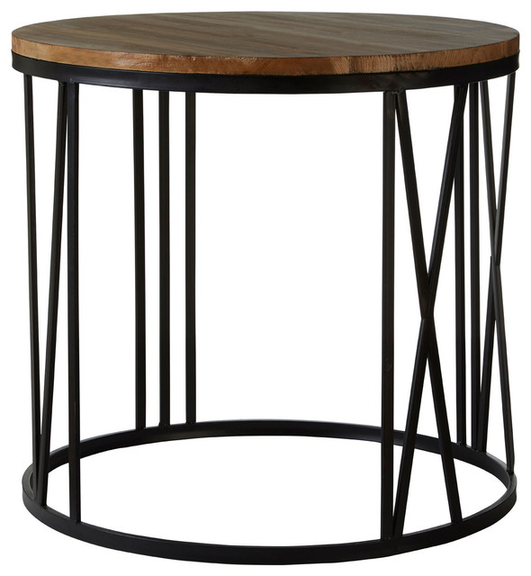 Greenwich Round Side Table.