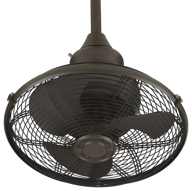 Fanimation 18 Oil-Rubbed Bronze Ceiling Fan - Of110ob.