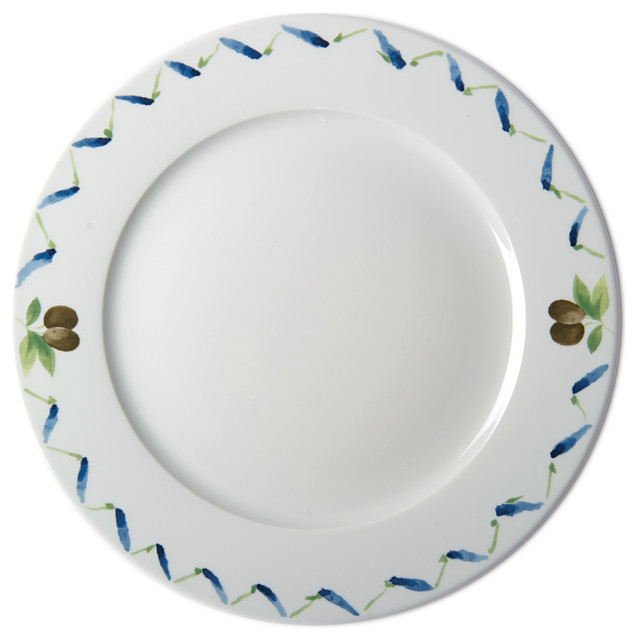 Pillivuyt Fleur de Provence 11  Plate Set With Lavender Wreath and Olives  sc 1 st  Houzz & Pillivuyt Fleur de Provence 11
