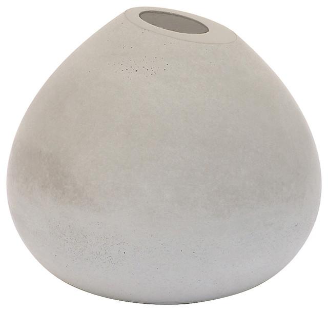 Gone 39 S Brut Single Stem Concrete Vase Scandinavian