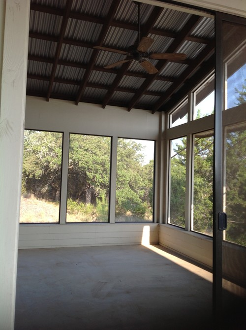 Screened patio sleeping porch off master bedroom what can i do what would you do with it solutioingenieria Images