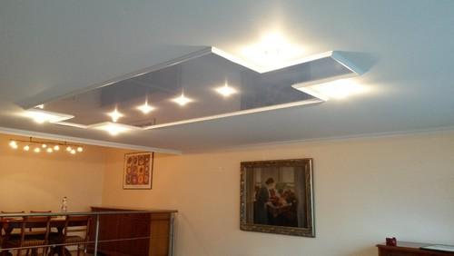 Wohnzimmer Decke Aus Holz In Eine Helle An Nur Einem Tag Ohne Schmutz Und Grosse Baustelle Verwandelt