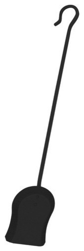 Uniflame C-1003 295 Inch Black Finish Shovel W/ Crook Handle.
