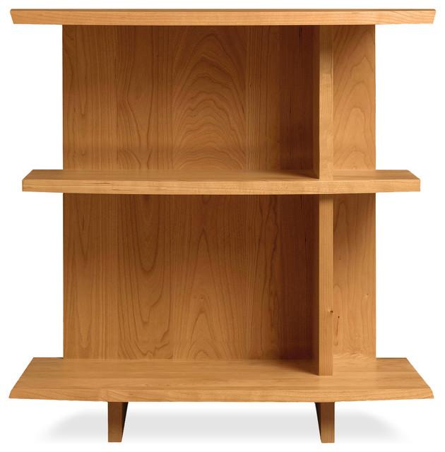 BerkeleyMonterey Shelf Nightstand Craftsman Nightstands And - Natural cherry side table