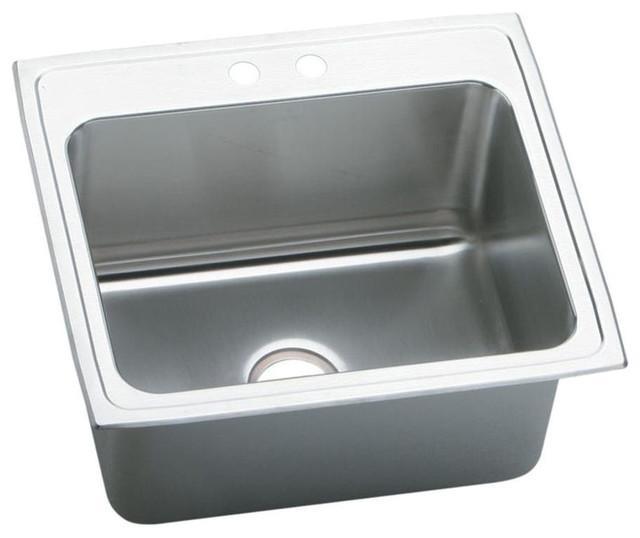 Elkay Pla2522122 Pursuit Stainless Steel Single Bowl Laundry/utility Sink.