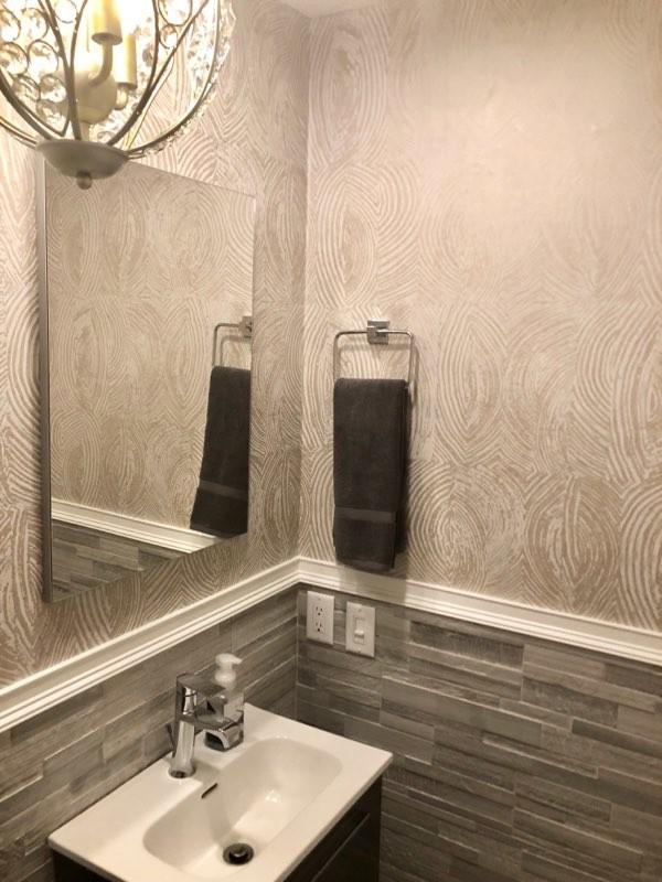 Half Bathroom Renovation in West Broward