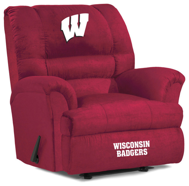 Wisconsin Badgers Big Daddy Recliner Traditional