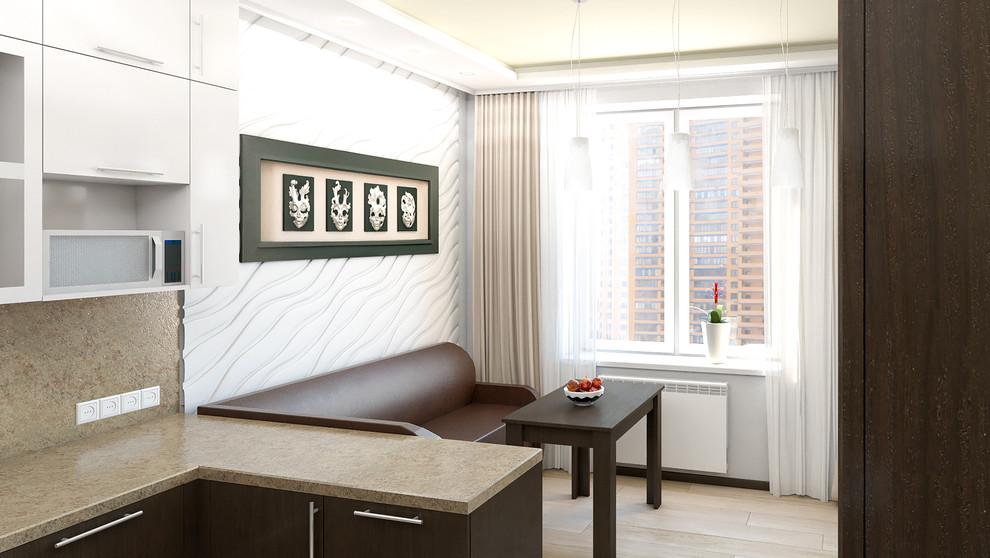 Дизайн-проект квартиры в Реутове, кухня