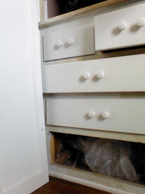 Built In Linen Closet, Help!!