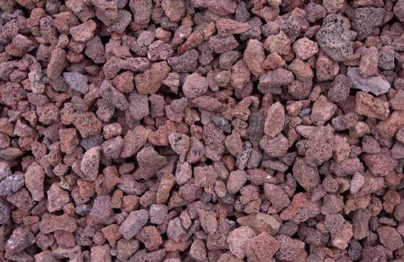 Burgundy lava rock 50 lb bag modern landscaping stones for Brown lava rock for landscaping
