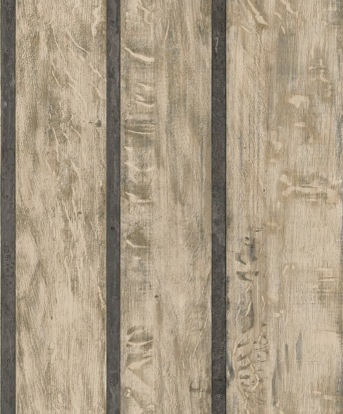 Modern Non Woven Wood Wallpaper For Accent Wall Just Like It