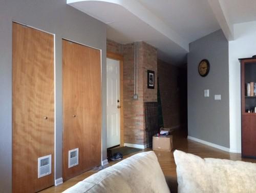 Utility Closet Doors Color And Trim
