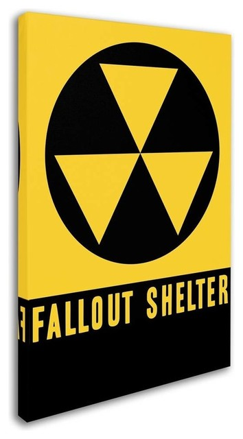 Vintage Apple Collection Fallout Shelter Canvas Art Midcentury Prints And Posters By